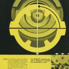 1956 Girocap Universal Escapement Company 1956 Swiss Ad Suisse Advert Horlogerie Horology