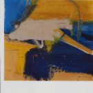 Willem de Kooning Yellows and Blues Art Ad Advertisement