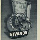 1956 Nivarox Company St Imier Switzerland Vintage 1956 Swiss Ad Suisse Advert Horlogerie Horology