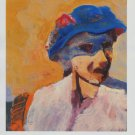 Richard Diebenkorn E.T. in a Hat Art Ad Advertisement