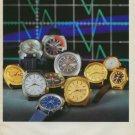 Bulova Watch Company Switzerland Vintage 1973 Swiss Ad Suisse Advert Horology