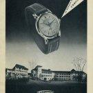 1956 Technos Watch Company Switzerland Vintage 1956 Swiss Ad Suisse Advert Gunzinger Freres