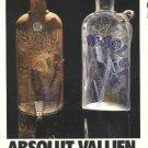 Ulrica Bertil Vallien Absolut Vallien Art Ad Absolut Vodka Advertisement Advert