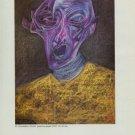Mihail Chemiakin Portrait 1987 Art Ad Advert Advertisement