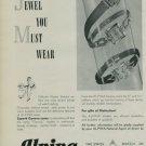 Alpina Watch Company 1950 Swiss Ad Bienne Switzerland Suisse Horlogerie