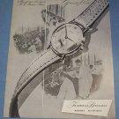 1951 Recta Watch Company Bienne Switzerland Vintage 1951 Swiss Ad Suisse Advert