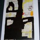 Jean-Michel Basquiat (1983) Art Ad Advertisement