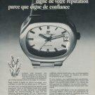 Girard-Perregaux Watch Company Switzerland 1973 Swiss Ad Suisse Advert Horology