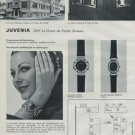 1972 Juvenia Watch Company Foire de Bale Switzerland Vintage 1972 Swiss Ad Suisse Advert Horology