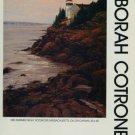 Deborah Cotrone 1987 Art Exhibition Ad Mid-Summer Night Rockport Massachusetts Advertisement