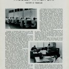 Nicolet Watch Company Vintage 1949 Swiss Magazine Article on New Nicolet Factory Horology