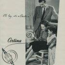 1950 Certina Watch Company Vintage 1950 Swiss Ad Switzerland Suisse Advert