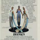 Erte 95th Birthday Anniversary Exhibition 1987 Retrospective Art Exhibition Ad