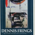Dennis Frings Vintage 1982 Art Ad Impact of Reality Advertisement