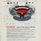 1965 Incabloc Portescap Watch Parts Company 1965 Swiss Ad Suisse Advert Horology Horlogerie