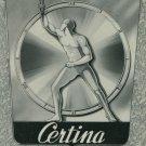 Certina Watch Company 1950 Swiss Ad Suisse Advert Grenchen Switzerland