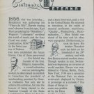 1956 Eterna Watch Company 100th Anniversary Vintage 1956 Swiss Ad Suisse Advert Switzerland