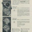 Ductor Watch Company Switzerland Northline Vintage 1956 Swiss Ad Suisse Advert