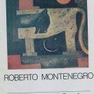 1974 Roberto Montenegro Vintage 1970's Art Ad Magazine Advertisement Galeria Tasende Mexico