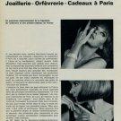 1965 Le 40e Salon de la Bijouterie Joaillerie Orfevrerie Paris 1965 Swiss Magazine Clipping Suisse