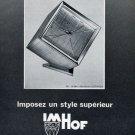 1965 Imhof Clock Company Switzerland 1965 Swiss Ad Suisse Advert Horology