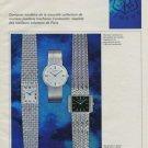 1970 Vacheron & Constantin Watch Company Switzerland 1970 Swiss Ad Suisse Advert Horology