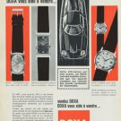 1965 Doxa Watch Company Le Locle Switzerland 1965 Swiss Ad Suisse Advert Horlogerie