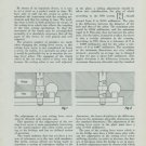 1949 The Setting Lever Screw by Jules Held Vintage 1949 Swiss Magazine Article Horology Suisse