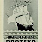 1944 Protexo Bracelet Company Switzerland Vintage 1944 Swiss Ad Suisse Advert Horology
