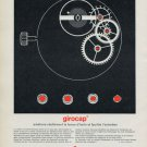 1965 Girocap Portescap Watch Parts Company 1965 Swiss Ad Suisse Advert Horology