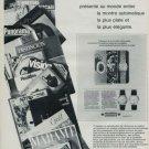 1968 Vacheron & Constantin Watch Company Geneva Switzerland 1968 Swiss Ad Suisse Advert