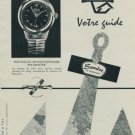 1956 Sandoz Watch Company Polemaster Advert Vintage 1956 Swiss Ad Suisse Advert Switzerland