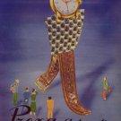 1950 Prexa Watch Company Switzerland Vintage 1950 Swiss Ad Suisse Advert Horology Horlogerie