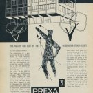 1957 Prexa Watch Company Vintage 1957 Swiss Ad Suisse Advert Switzerland