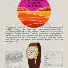 1968 Universal Geneve Watch Company Geneva Switzerland Unisonic Vintage 1968 Swiss Ad Suisse Advert