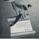 Ebel Watch Company Switzerland 1957 Swiss Ad La Chaux-de-Fonds Suisse Advert