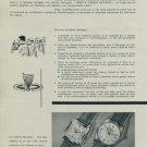 1956 Girard-Perregaux Watch Company Switzerland Vintage 1956 Swiss Ad Suisse Advert