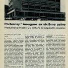 1965 Portescap Inaugure sa Sixieme Usine 1965 Swiss Magazine Article Horlogy Horlogerie Incabloc