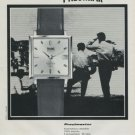 1968 Precimax Watch Company Precimax Precimaster Advert Vintage 1968 Swiss Ad Suisse Advert Horology