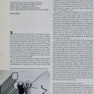1969 Nicholas Krushenick The Artist Speaks 1969 Art Magazine Article  by Corinne Robins