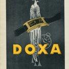 1939 Doxa Watch Company Switzerland Vintage 1939 Swiss Ad Suisse Advert Horlogerie Horology