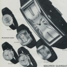 Maurice Guerdat Watch Company Switzerland Vintage 1972 Swiss Ad Suisse Advert Horlogerie Horology