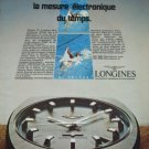 1972 Longines Watch Company Switzerland Munich Olympics Olympiques 1972 Swiss Ad Suisse Advert