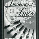 1939 Langendorf Watch Company Lanco Watch Co Switzerland Vintage 1939 Swiss Ad Suisse Advert