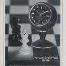 1969 Montremo Clock Company La Chaux-de-Fonds Switzerland 1969 Swiss Ad Suisse Advert Horology