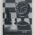 1969 Montremo Clock Company La Chaux-de-Fonds Switzerland 1969 Swiss Ad Suisse Advert Horology