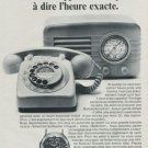 1968 Bulova Watch Company Switzerland Vintage 1968 Swiss Ad Suisse Advert