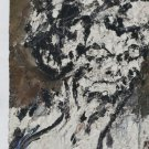Frank Auerbach Head of Helen Gillespie Art Ad Advertisement
