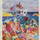 Malcolm Morley Lifeguard Art Ad Advertisement