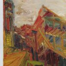 Frank Auerbach To the Studios II Art Ad Advert